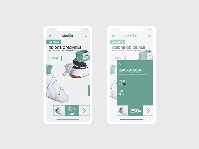 Adidas Shoes App