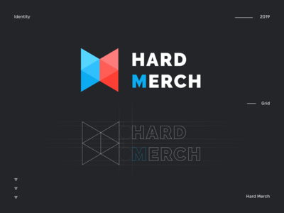 Logo for Hard Merch