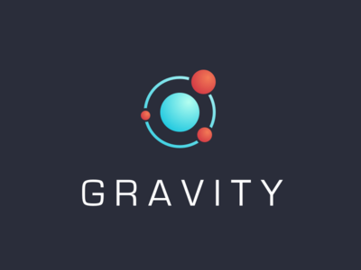 Gravity Logo space logo atom gravity