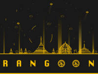 Yangon, Rangoon, Myanmar