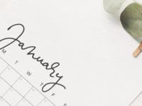 Unika signature font