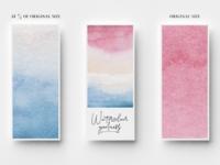 Watercolor brush & texture pack