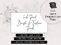 Inky Typewriter font