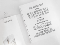 Soul Drifter font collection
