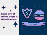 Skillshare Class about Badges