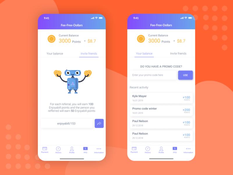 Payment bill payments payment banking app bank app app ui design