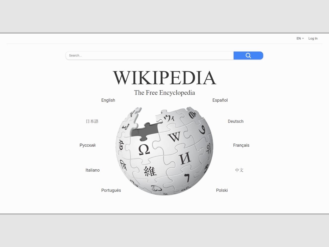 Wikipedia home page redesign wiki wikipedia webdesign web ui ux design css html