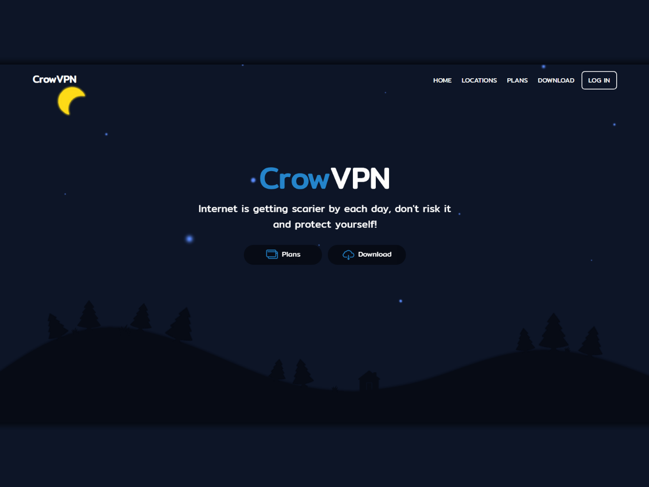 CrowVPN | Ongoing project flat website css html webdesign web ux ui design