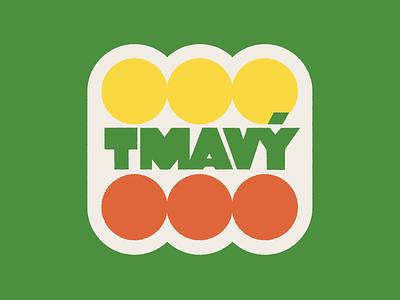 Tmavy logo branding czech beer