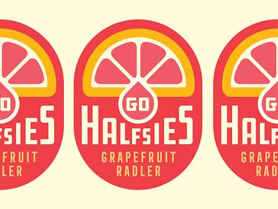 Go Halfsies beer radler grapefruit