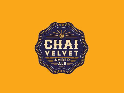 Chai Velvet ale chai badge beer