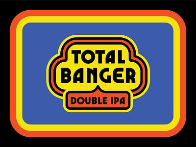 Totes Banger branding ipa beer
