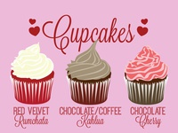 Cupcakes Infographic