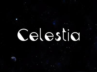 Celestia | Free font design web tipography