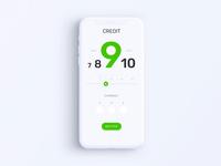 Privat24 Banking App - Credit Calculator Animation