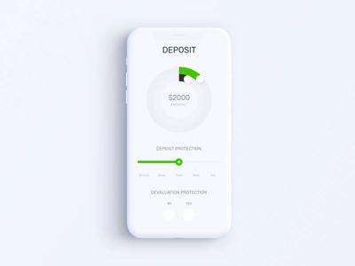 Privat24 Banking App - Deposit Calculator Animation