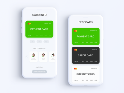 Privat24 Banking App - Card Info & Add Card