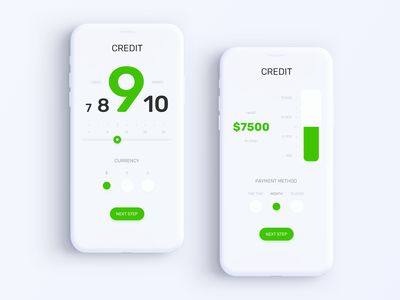Privat24 Banking App - Credit Calculator