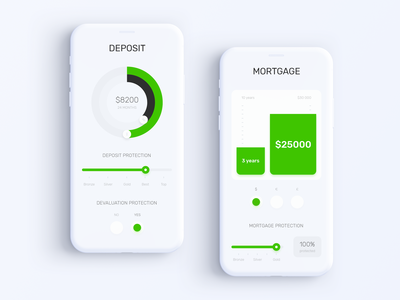 Privat24 Banking App - Deposit & Mortgage Calculators