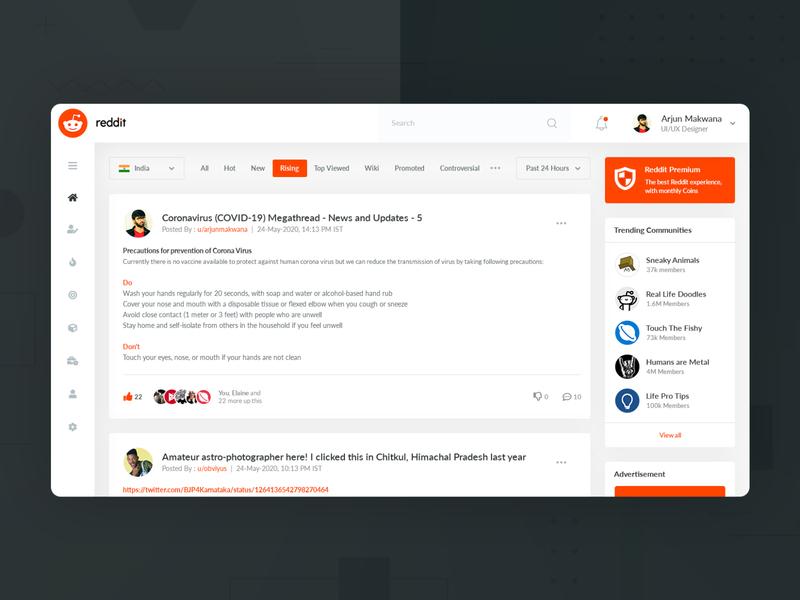 Reddit Redesign Challenge