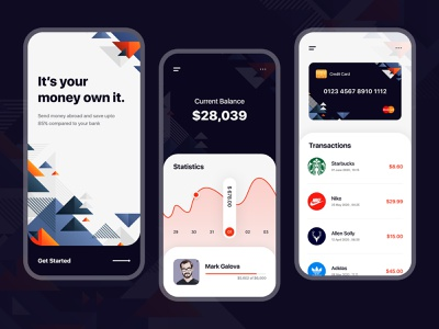 Payment Wallet App android ios ui ui kit finance business paypal account app payments mobile app mobile application business finance wallet ui payment finance app wallet app payment app