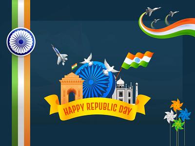 Happy Republic Day - 26th January - India 2021 republican 2021 india happy republic republic happy