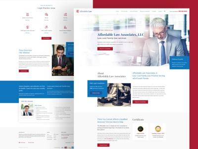 Affordable - Lawyer Creative Landing Page Template modern professional business product design web design design template templates crime lawyer lawyers lawyer landing page website design mockup design landing layout design web templates homepage landing page creative landing page