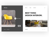 Furniture - Creative Landing Page Template