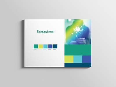 Engagious - Brand Guideline / Color Palette typography colorpalette brandguide logodesign branding
