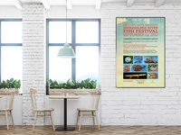 Fall City Arts  - Fish Festival Poster design