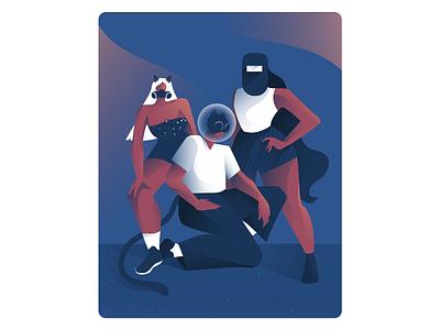 2020 Group Photo ux graphic designers vector art direction illustrator design art graphic design artwork illustration