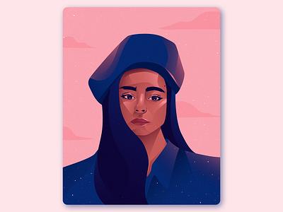 Self Portrait Illustration ui ux graphic designers vector illustrator design art graphic design artwork illustration