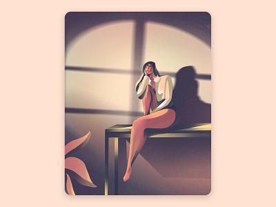 Golden Hour | Character Design poster design editorial design book cover website illustration character design procreate art procreate inspiration design illustrator art graphic design illustration artwork