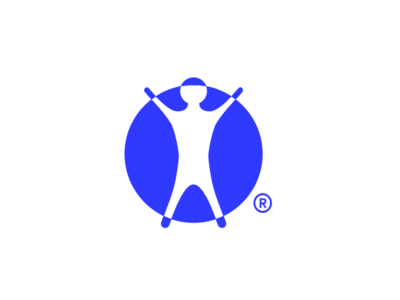 Radiology flat branding vector logo icon design