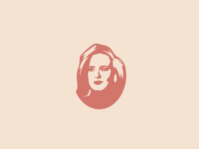 Adele Portrait Stencil
