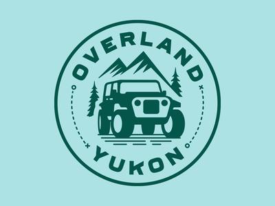 Overland Yukon tourism camping vehicle rentals nomad mountains outdoors backcountry adventure overland yukon 4x4 logo