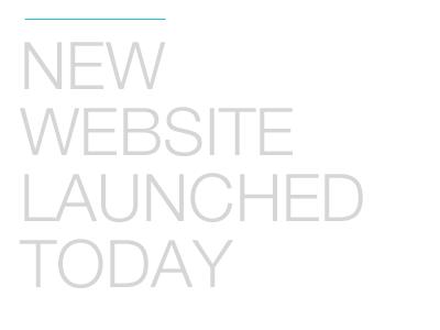 New Website Online new website online helveticaneue-light white blue grey minimal