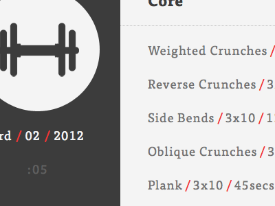 Personal Workout Log workout log icon weights gym