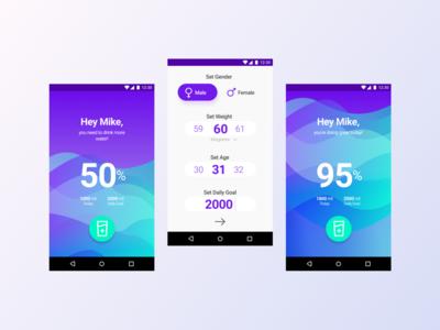 Water Balance App Concept