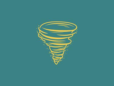 17-Storm illustration vectober inktober