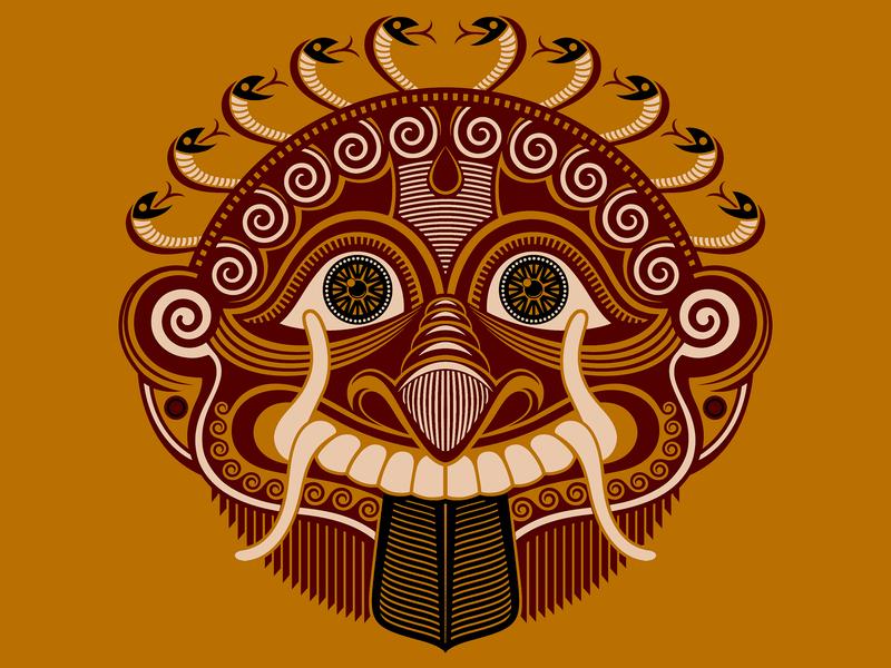 Gorgon mythical creature illustrator cc illustrator illustration art drawing vector screen printing illustration design