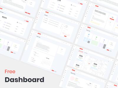 Free Dashboard free adobe xd adobe vector app ui design