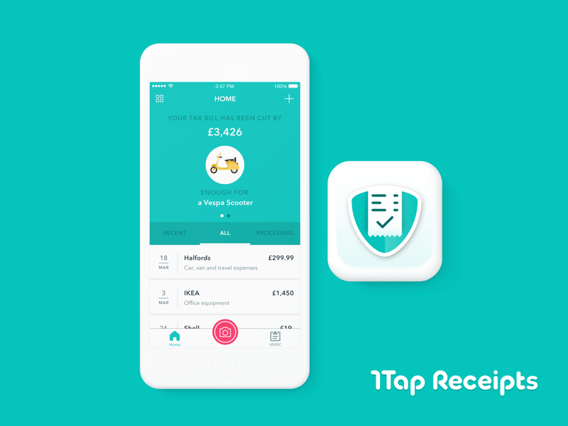 1tap Receipts Case Study
