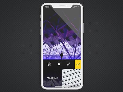 Fused Masking iphone x masking blending video photo icon app ios fused