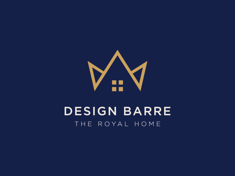 Design Barre design home design home decor decoration decor decorate decore home decore logo branding design brand identity brand design branding brand king royalty royals royal crown