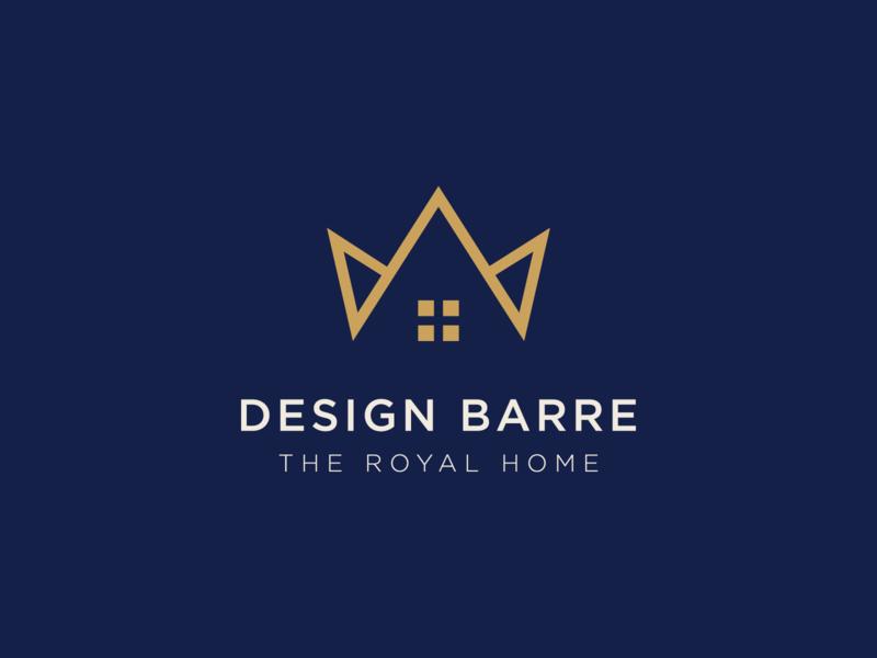 Design Barre design home design home decor decoration decor decorate decore home decore logo branding design brand identity brand design branding brand king royalty royals royal crown