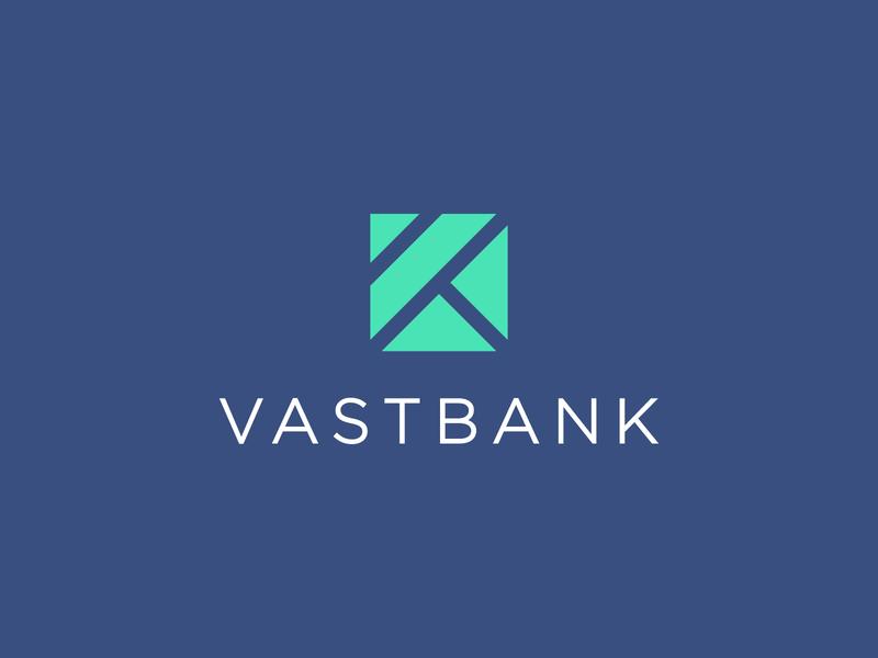 Vast Bank accounting account bank card banking app bank app banking bank vast design branding design brand design logo brand identity branding brand