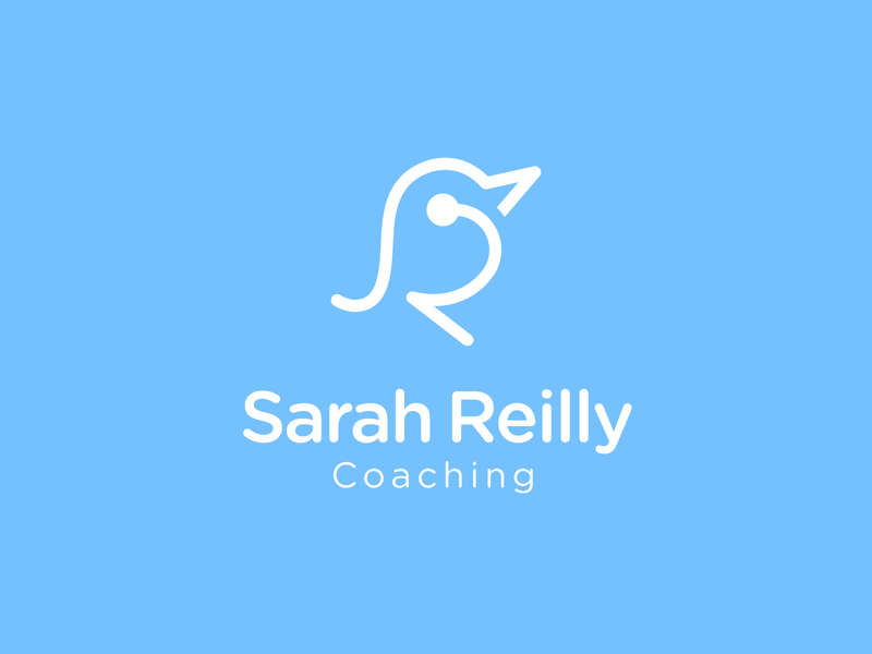 Sarah Reilly smile happy relaxed relaxation relaxing lifestyle lifecoach life trainings training coaching coach logodesign branding design brand design design brand identity logo branding brand