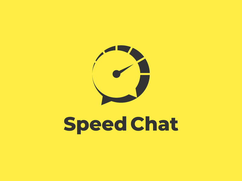 Speed Chat speed responsive logodesign logo help design customer service customer chatting chat calls calling call branding design branding brand identity brand design brand answer agent