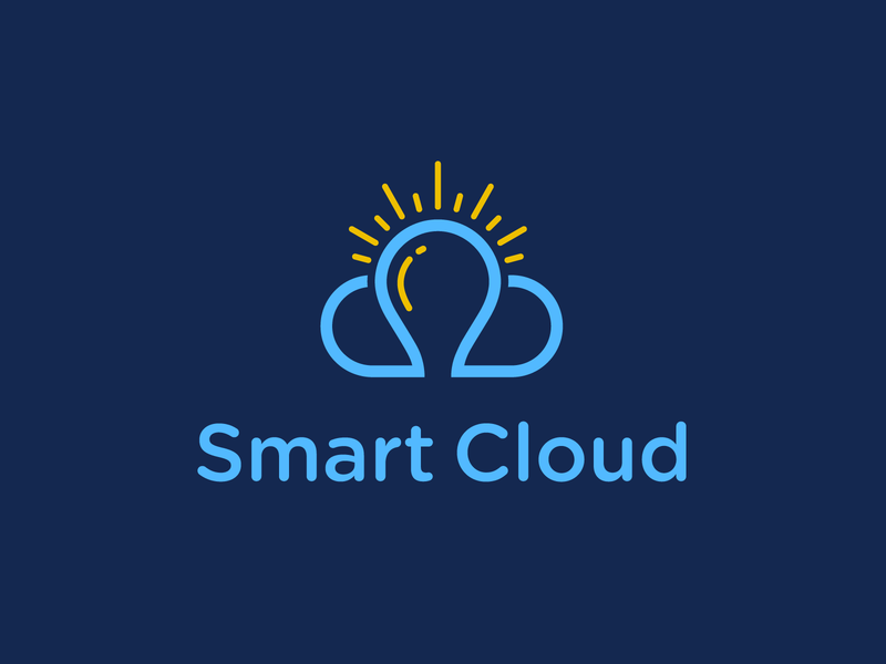 Smart Cloud uploading files security secured secure server servers data intelligence intelligent smart cloud logodesign branding design brand design design brand identity logo branding brand